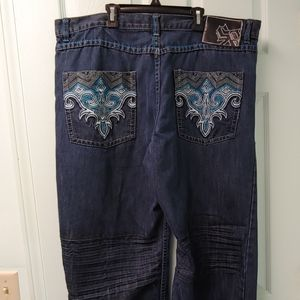 South Pole Mens Stylish Jeans. Size 42 Waist.